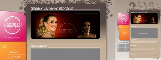 Charte du site pour le projet cabaret